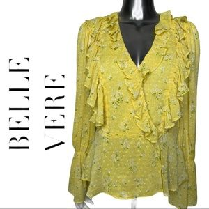 🔥Bundle 3 or More Save 40%🔥Floral Blouse Ruffle